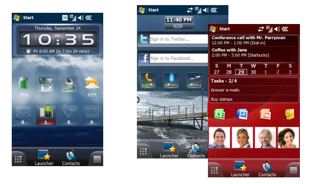 SPB Mobile Shell: Windows Mobile facelift
