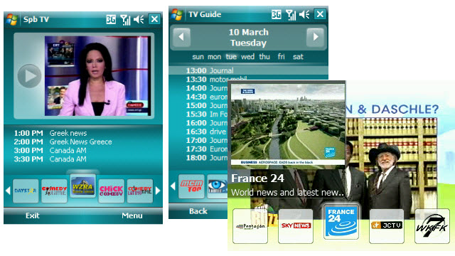 SPB TV: turn your phone into a tiny televison
